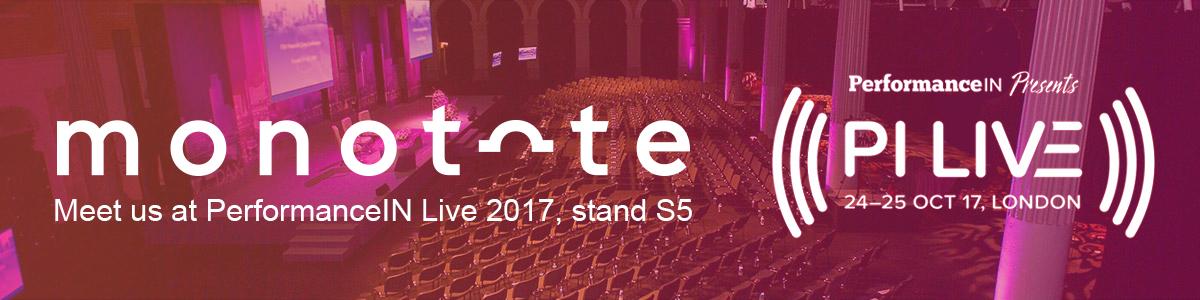 Meet us @ PerformanceIN Live 2017 #PILIVE17